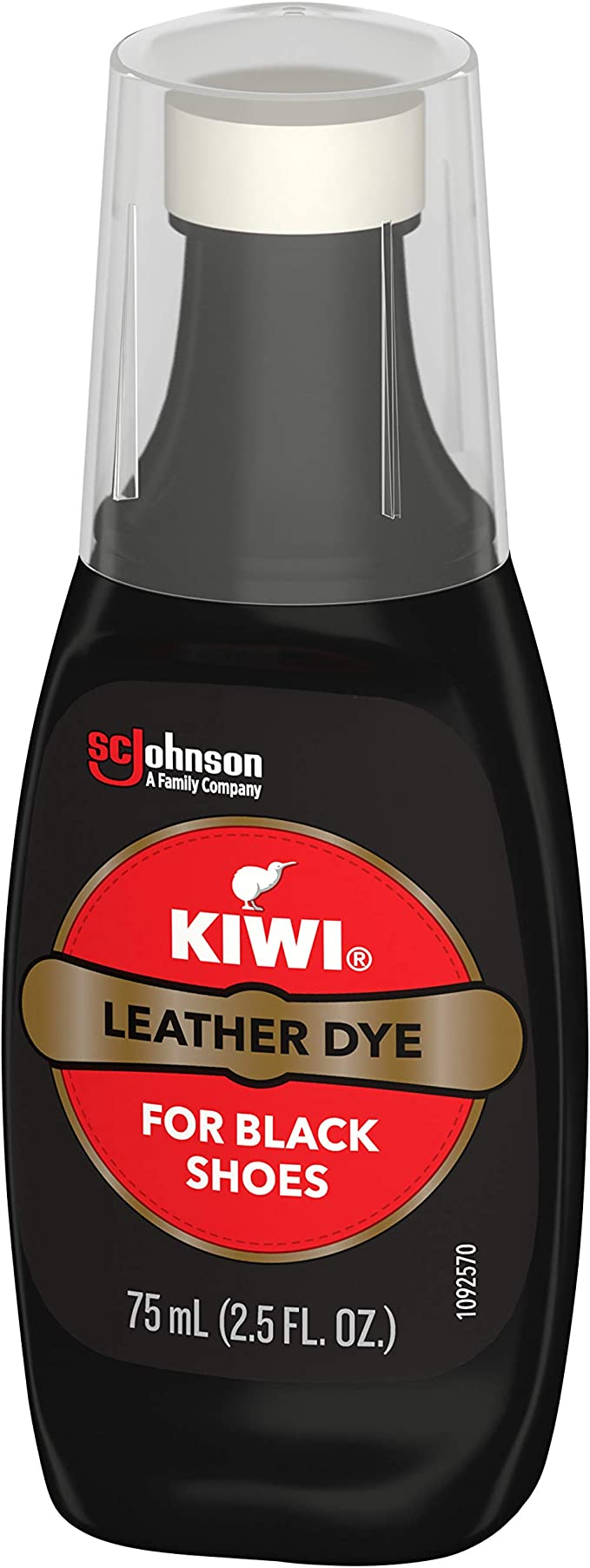 outlet for sale newest collection super cute Amazon.com: KIWI Leather Dye, Black, 2.5 oz (1 Bottle with Sponge ...