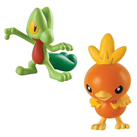Buy Pokmon 2 Pack Small Figures Treecko And Torchic Online At Low Prices In India