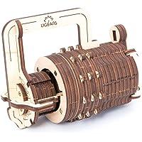Ugears 70017 - Combination Lock, 3D-houten bouwpakket zonder lijm