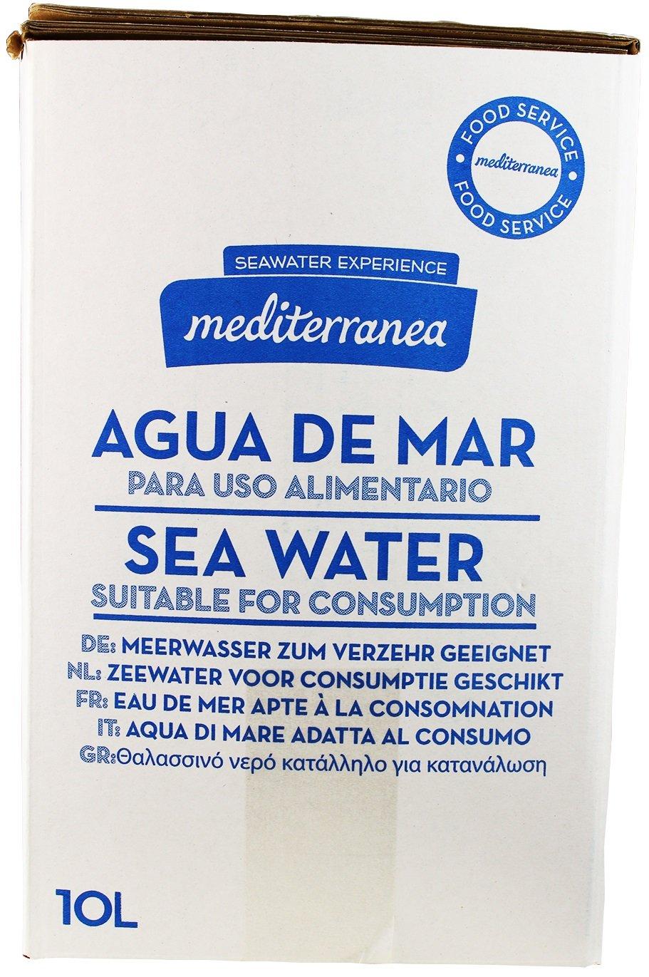 Mediterranea Agua de Mar Alimentaria en Envase de 10 Litros: Amazon.es: Salud y cuidado personal