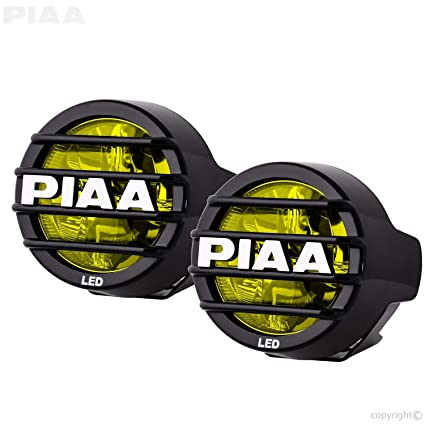 amazon com piaa 22 05370 lp530 yellow 3 5 led ion fog light kit rh amazon com