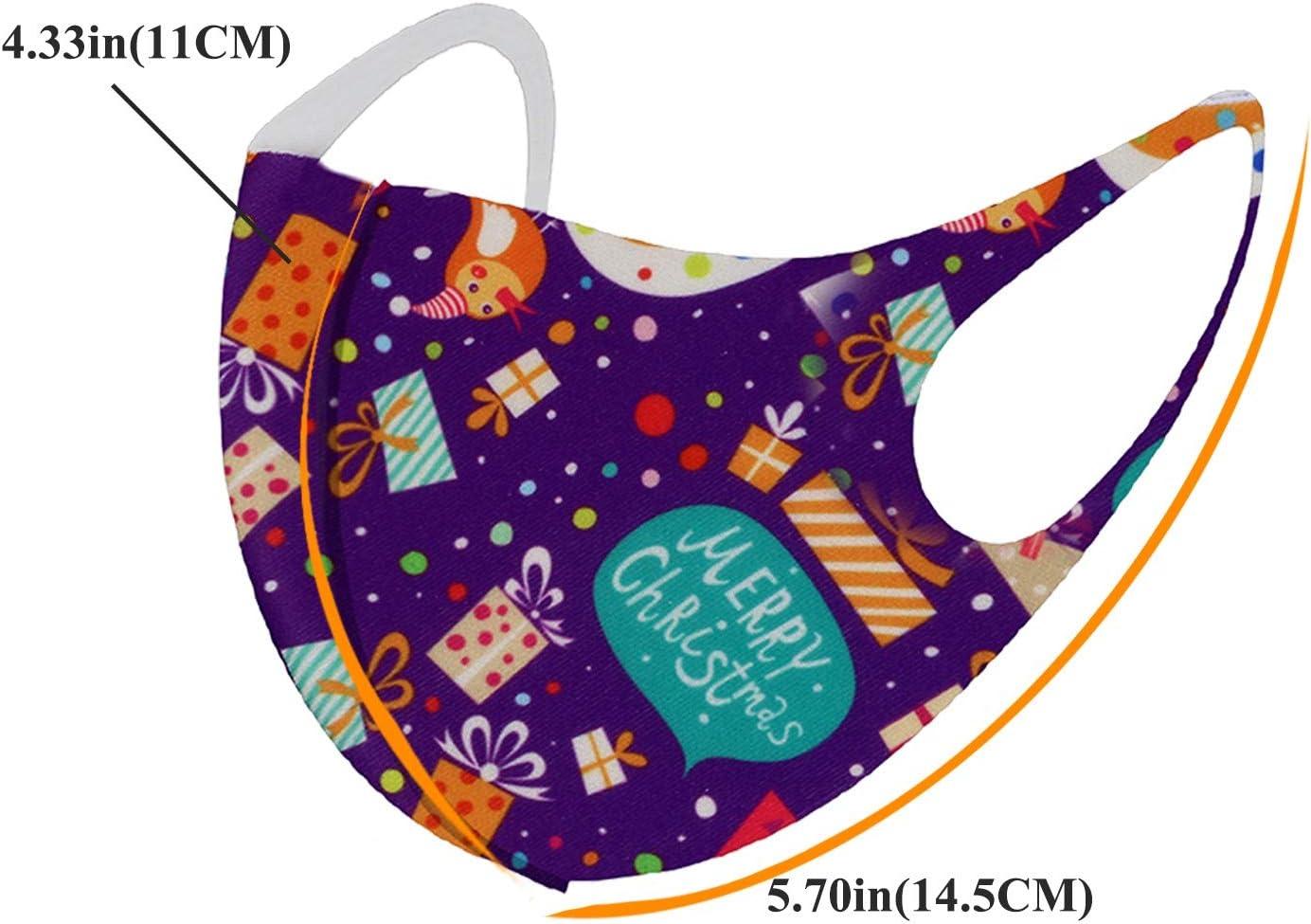 MGET Basic Children Pack 2PC MASCARILLAS Infantiles FACIALES DE Tela Lavable Reutilizable M/áscaras Reutilizables de la mascarilla de la impresi/ón de la Moda Lavable 2PC de Halloween del ni/ño