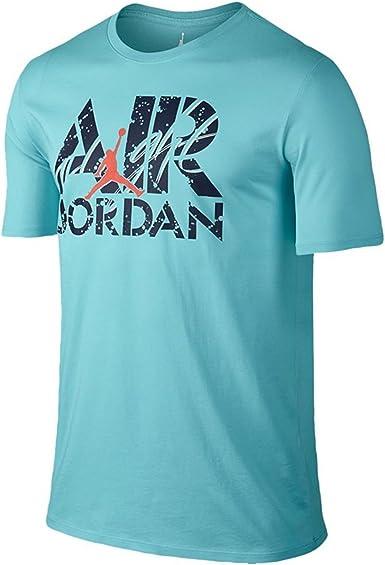 Air Jordan Jumpman – Camiseta de vuelo para hombre azul/azul marino/infrarrojos - 706843-437, Azul: Amazon.es: Deportes y aire libre
