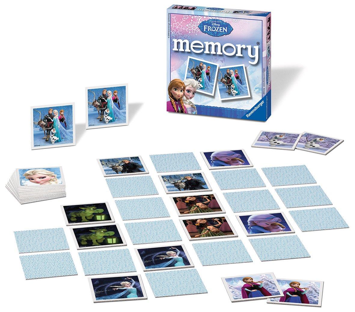 Uncategorized Disney Memory Game ravensburger 21111 disney frozen mini memory amazon co uk toys games