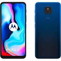 "Motorola Moto E7 Plus - 6.5"" Max Vision HD+, Qualcomm Snapdragon 460, 48MP sistema de doble cámara, 5000 mAH de batería…"
