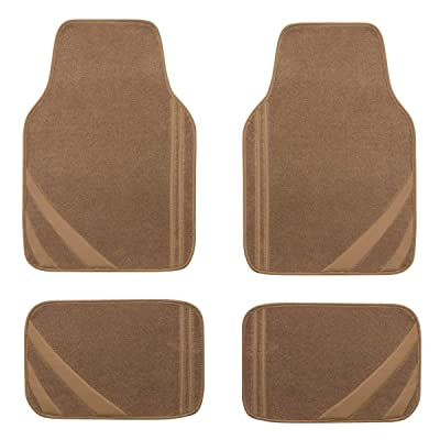 New Arrival Car Pass Liner Rider Universal Fit Car Floor Mats,Perfectly Fit sedans,vans,suvs,trucks(Beige): Automotive