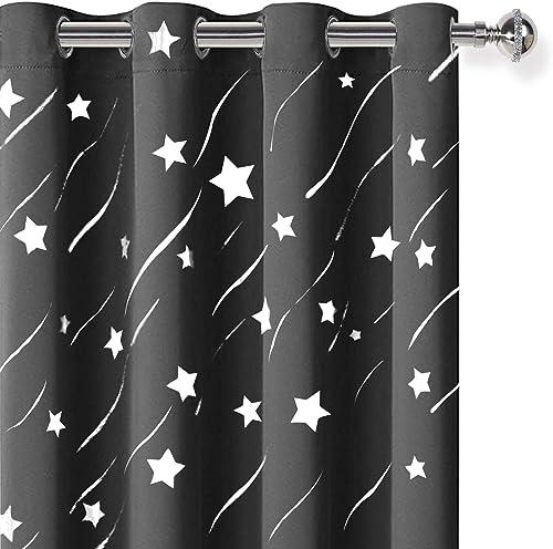 DWCN Star Blackout Curtains