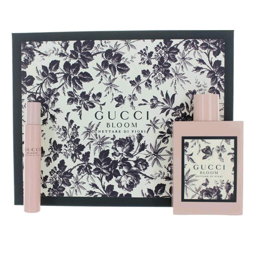 50cc8cb48 Amazon.com : Gucci Bloom Nettare Di Fiori Intense for Women 2 Piece Set  (3.4 Eau De perfume Spray+ 0.25 4 Eau De perfume Spray) : Beauty