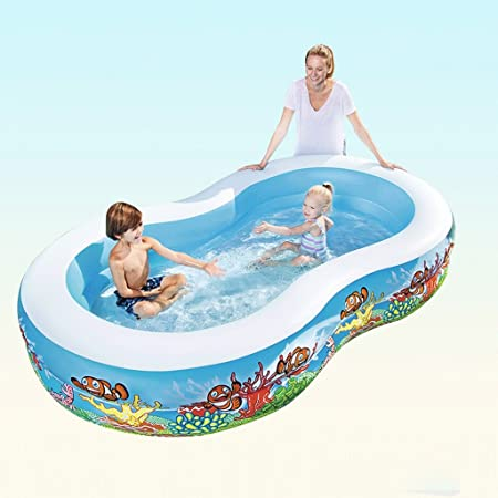 Piscina Hinchable Piscina para Adultos Bañera Hinchable Acolchada para baño LITING_Wang (Color : Package B): Amazon.es: Hogar