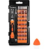 Tacklife HPSB1A Mini Screwdriver Set 58 in 1 Magnetic Driver Kit, Professional Repair Tool Kit, Flexible Shaft, Magnetic Driver for Jewelry Repair, Smartphone, Game Console, Tablet, PC