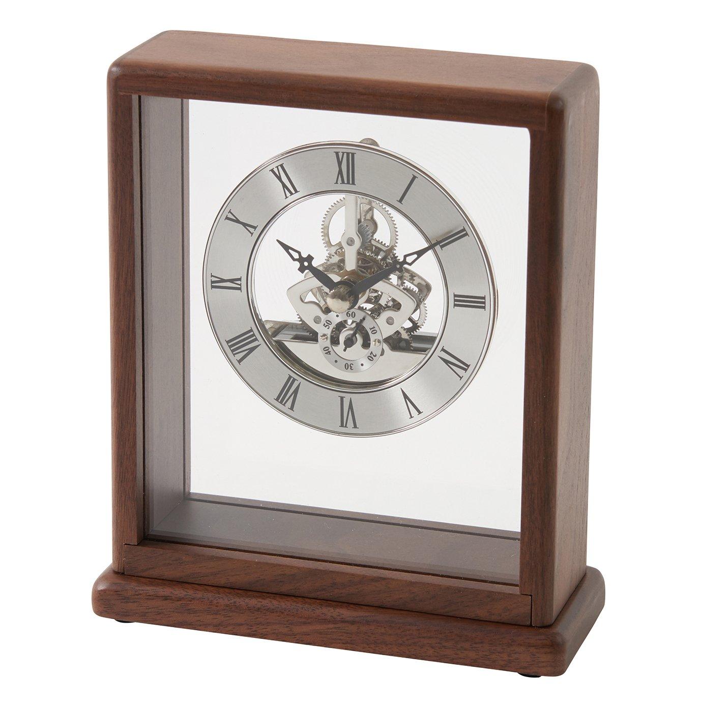 茶谷産業 Desktop Collection 銀の時計 853-S100 B07517PSYG