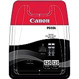 Canon - PGI-525 - Cartouche d'Encre d'Origine - Pack de 2 - Noir