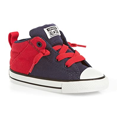 b4edc51f5f9 Amazon.com | Converse Kids' Chuck Taylor All Star Axel Mid Leather ...