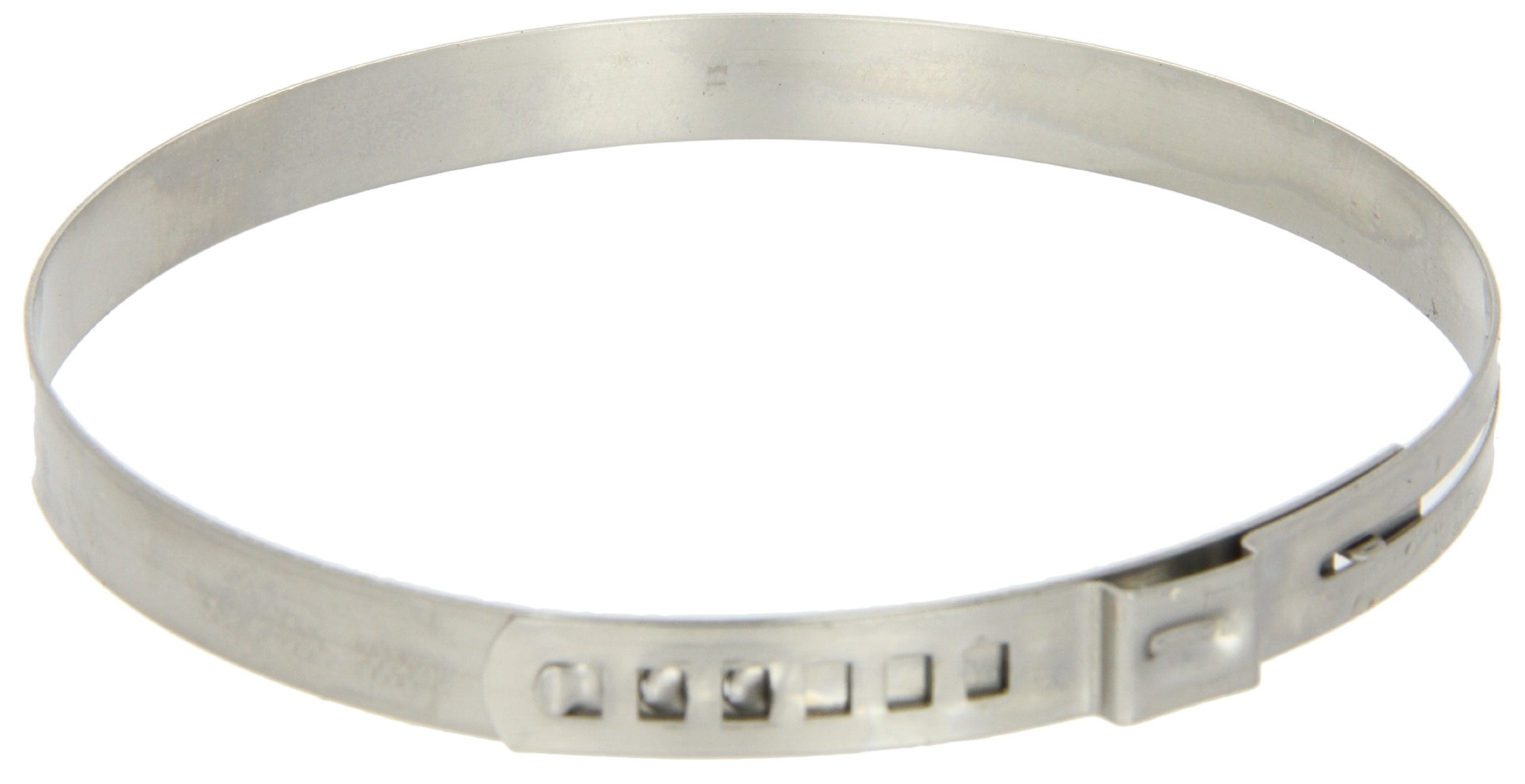 Oetiker 16300040 Stainless Steel 304 Adjustable Hose Clamp, One Ear, Clamp ID Range 76 mm (Closed) - 84 mm (Open) (Pack of 100)