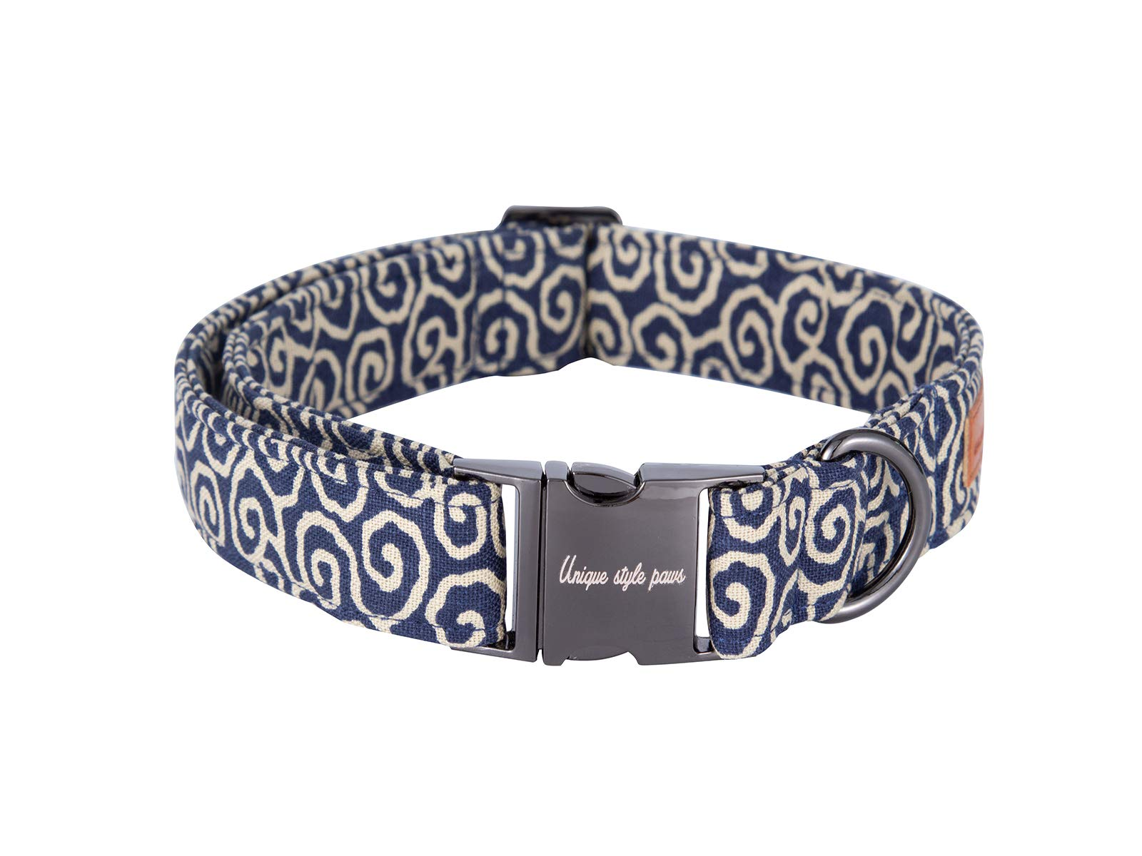 Unique-style-paws-Christmas-Dog-and-Cat-Collar-with-Bow-Pet-Gift-for-Dogs-and-Cats-Adjustable-SoftComfy-Cotton-Collars-6-Sizes-and-6-Patterns