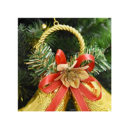 uwill christmas bells decorations for home christmas tree ornamentsbells gold - Christmas Bells Decorations
