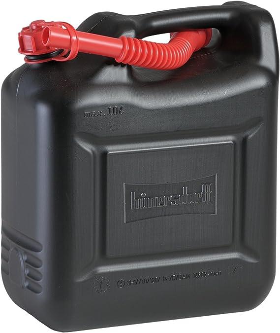 7 x 10 L Kraftstoffkanister Benzin Diesel Kanister Reservetank UN-Nummer rot