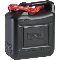 Hünersdorff Bidón para carburante COMPACT 10L, PEAD Negro