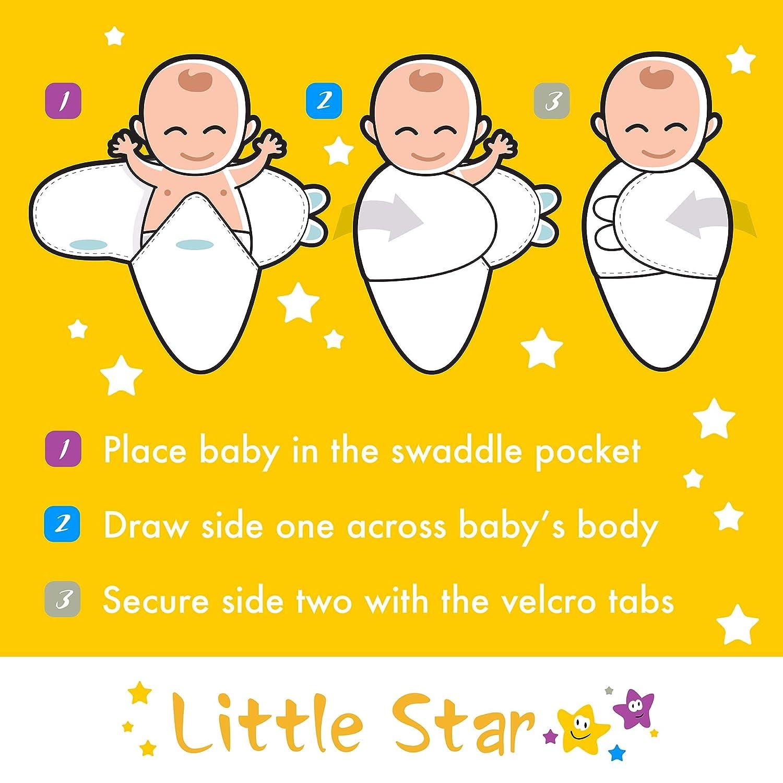 unisex LZH 0-12 meses Manta para beb/é reci/én nacido