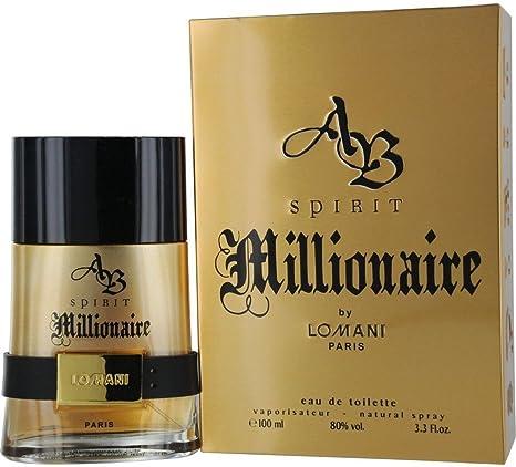 lomani Spirit Millionaire Eau de Toilette para hombres 100 ml