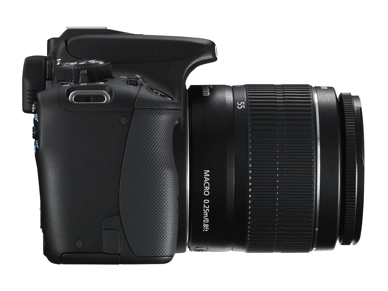 Canon 8576B030 Digitalkamera Reflex EOS 100D+18 schwarz: Amazon.de ...
