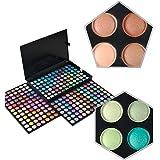 KRABICE Palette de maquillage d'ombre à paupières, 252 Ensemble de maquillage maquillage d'ombre à paupières de couleur