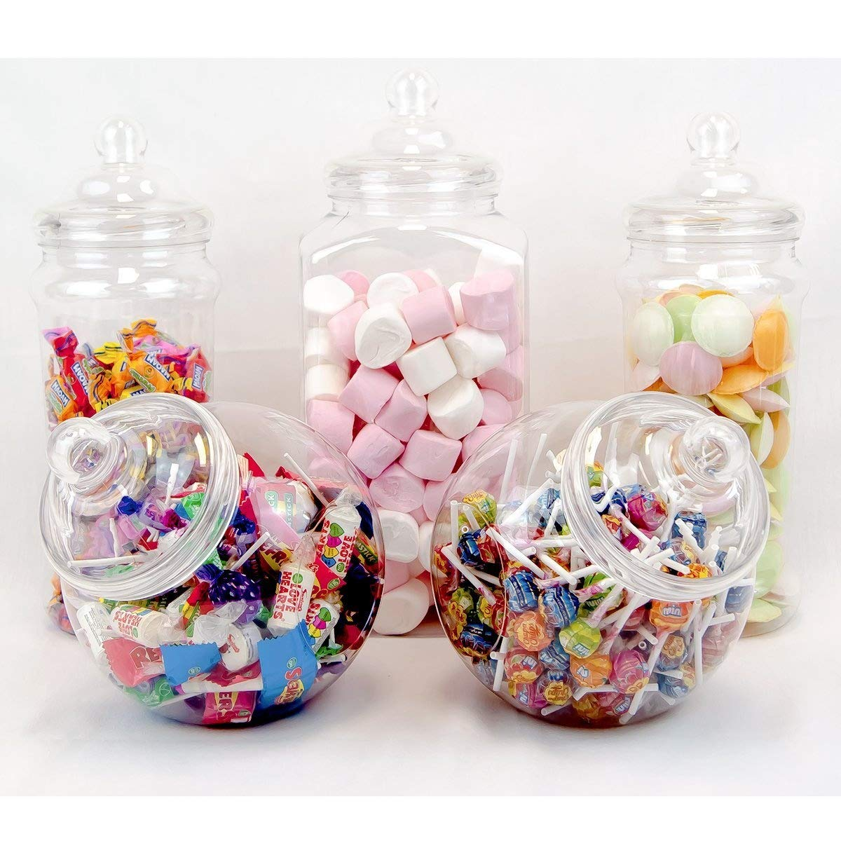 5 Large Vintage Victorian Pick & Mix Sweet Shop Candy Buffet Kit Party Pack Top Star