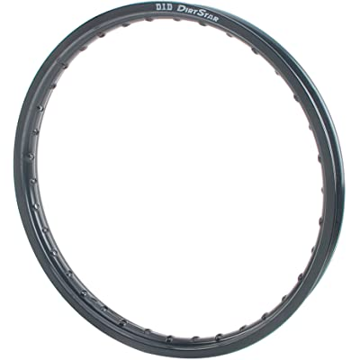 D.I.D. 18X215VB01H Dirt Star Black 2.15x18 OEM Profile Rear Rim: Automotive