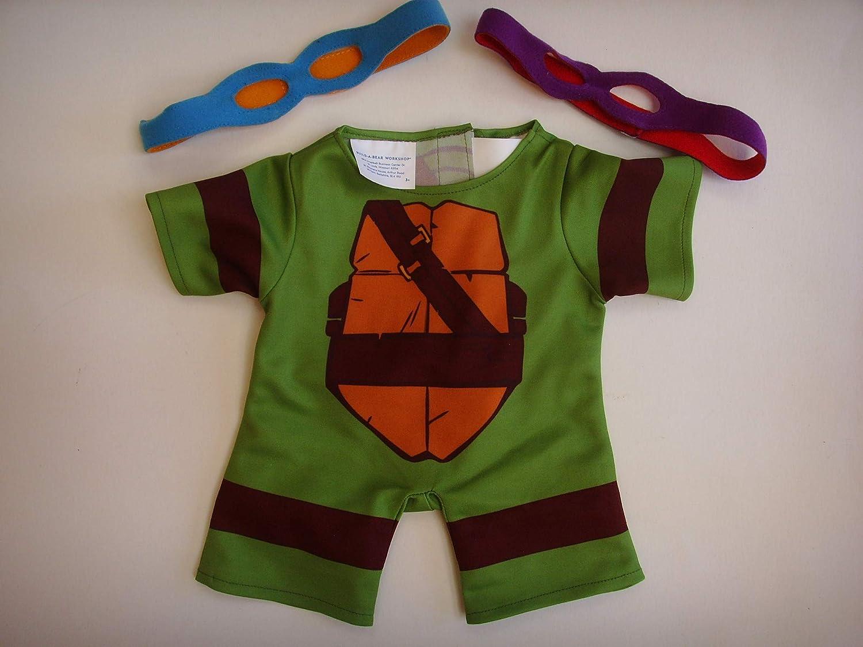 Amazon.com: Teenage Mutant Ninja Turtle Build a Bear ...