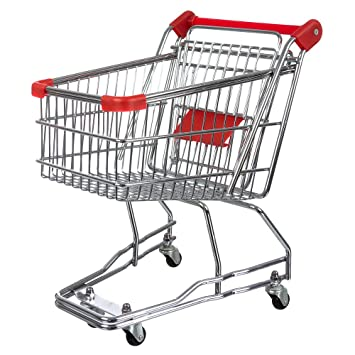 office trolley cart. invero® mini shopping trolley cart with flip-out child seat and rolling wheels ideal office i