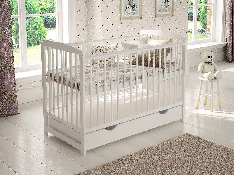 Cuna de bebé con cajón/cama junior