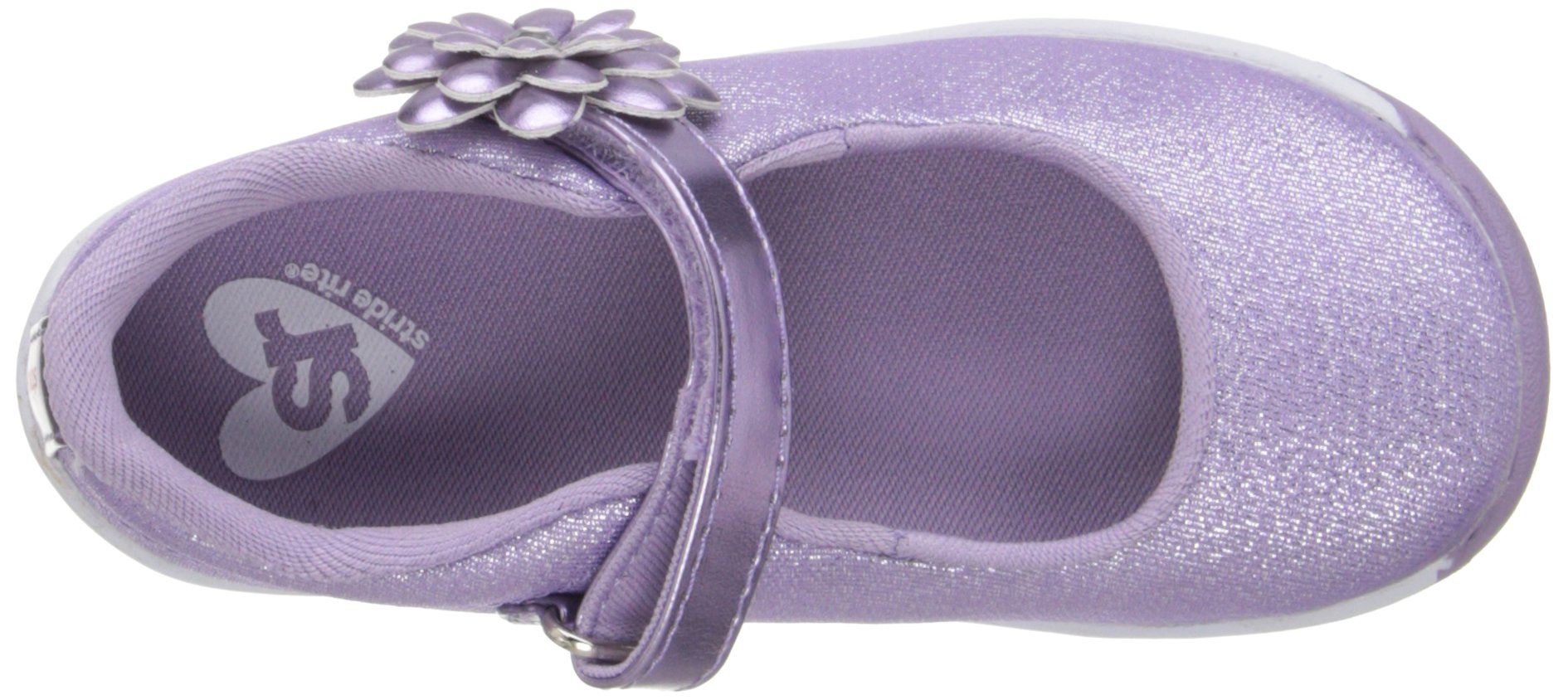 Stride Rite Haylie Mary Jane Silver Toddler//Little Kid 8 Toddler