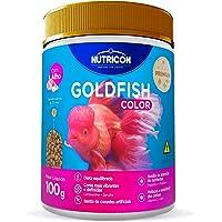 Goldfish Color 100gr Nutricon Para Peixe Tropical Adulto