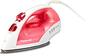 Panasonic Steam Iron, 1.1kg, 2150W, White/Purple (NI-E410TRSH)