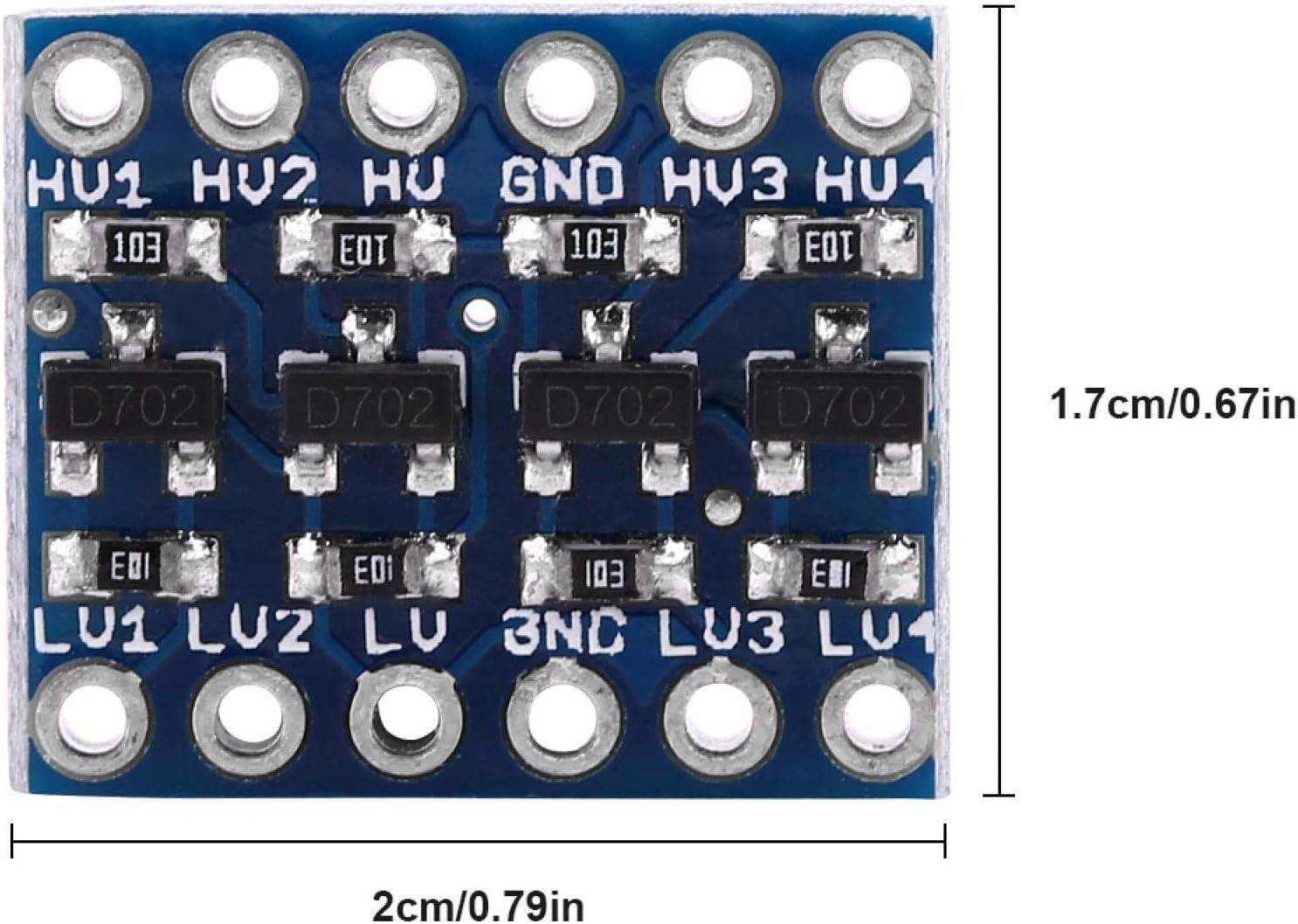 convertitore di livello bidirezionale convertitore di livello logico IIC I2C a 4 canali Professional per dispositivo di comunicazione di componenti elettronici Convertitore di livello I2C