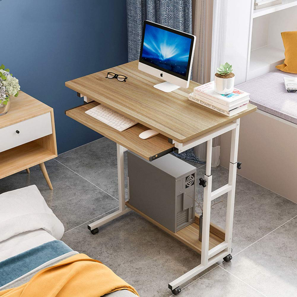 Amazon Com Yq Whjb Computer Desk With Keyboard Tray Mobile