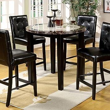 Amazon Com Furniture Of America Cm3188pt 40 Atlas Iv 40 Round