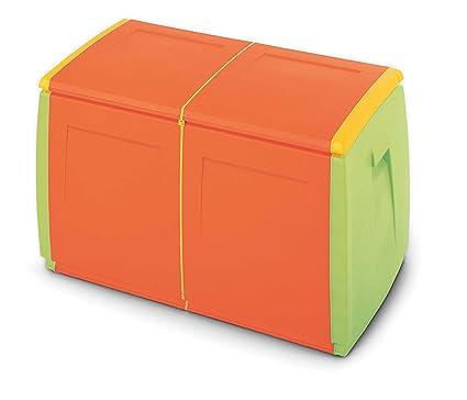Box In Plastica Per Giardino.Terry In Out Box 97 Baule In Plastica 97 X 54 X 57 Cm Amazon It