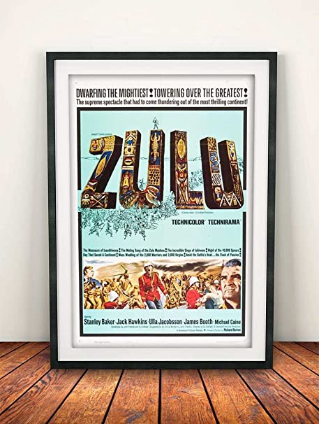Zulu 1964 A4 Movie Film Poster Print 260gsm Photo Paper Amazon