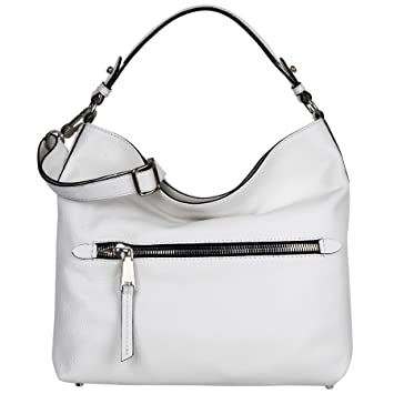 7271456d33b2f abro Beuteltasche Calf Adria in White ab-28517-37-70  Amazon.de ...