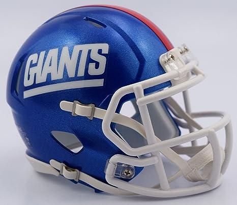 520c71da9de Image Unavailable. Image not available for. Color  NFL New York Giants  Retro Revolution Speed Mini Helmet
