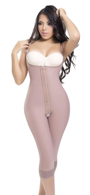 b8cd7ecf16856 ANN SLIM 5302 Post Surgery Tummy Tuck LIPO Suction Post PARTUM Capri  Shapewear at Amazon Women s Clothing store