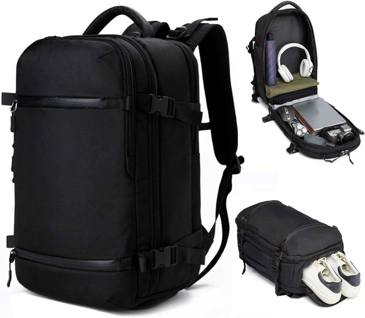 OZUKO 17 inch Laptop Backpack Waterproof Travel Bag