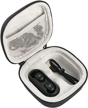 Khanka Duro Viaje Estuche Bolso Funda para Auriculares Estereo Bluetooth 5.0 SoundPeats de Truefree Auriculares Invisibles: Amazon.es: Electrónica