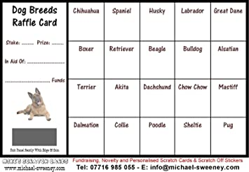 raffle cards