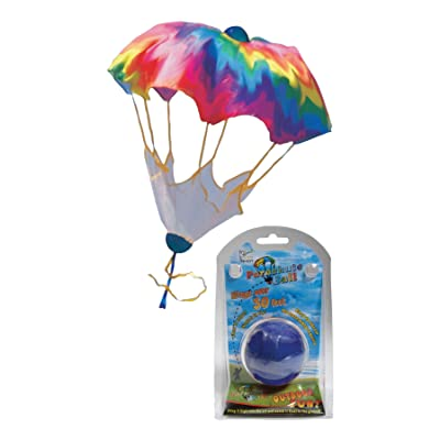 In the Breeze Rainbow Parachute Ball: Garden & Outdoor