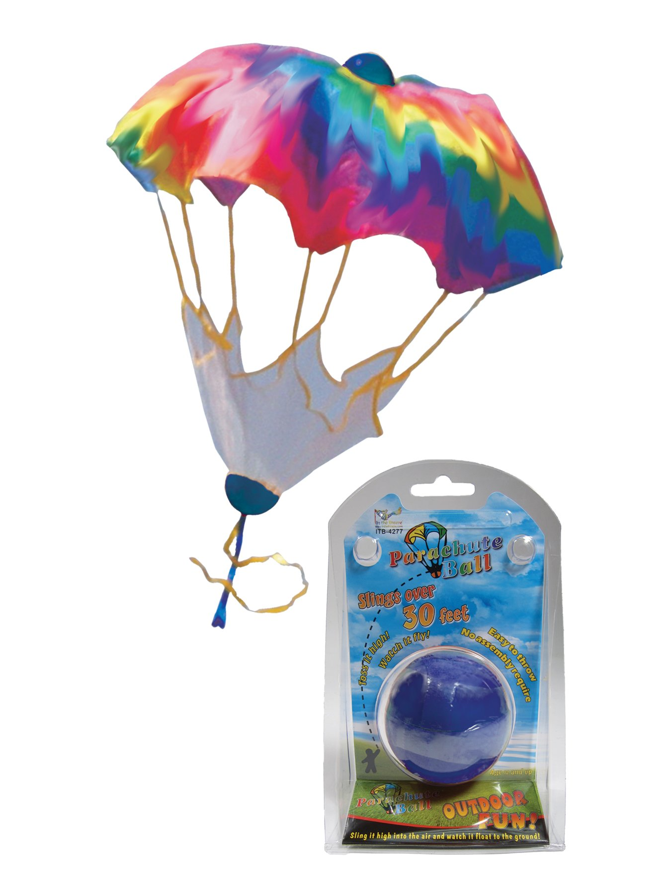 In the Breeze Rainbow Parachute Ball