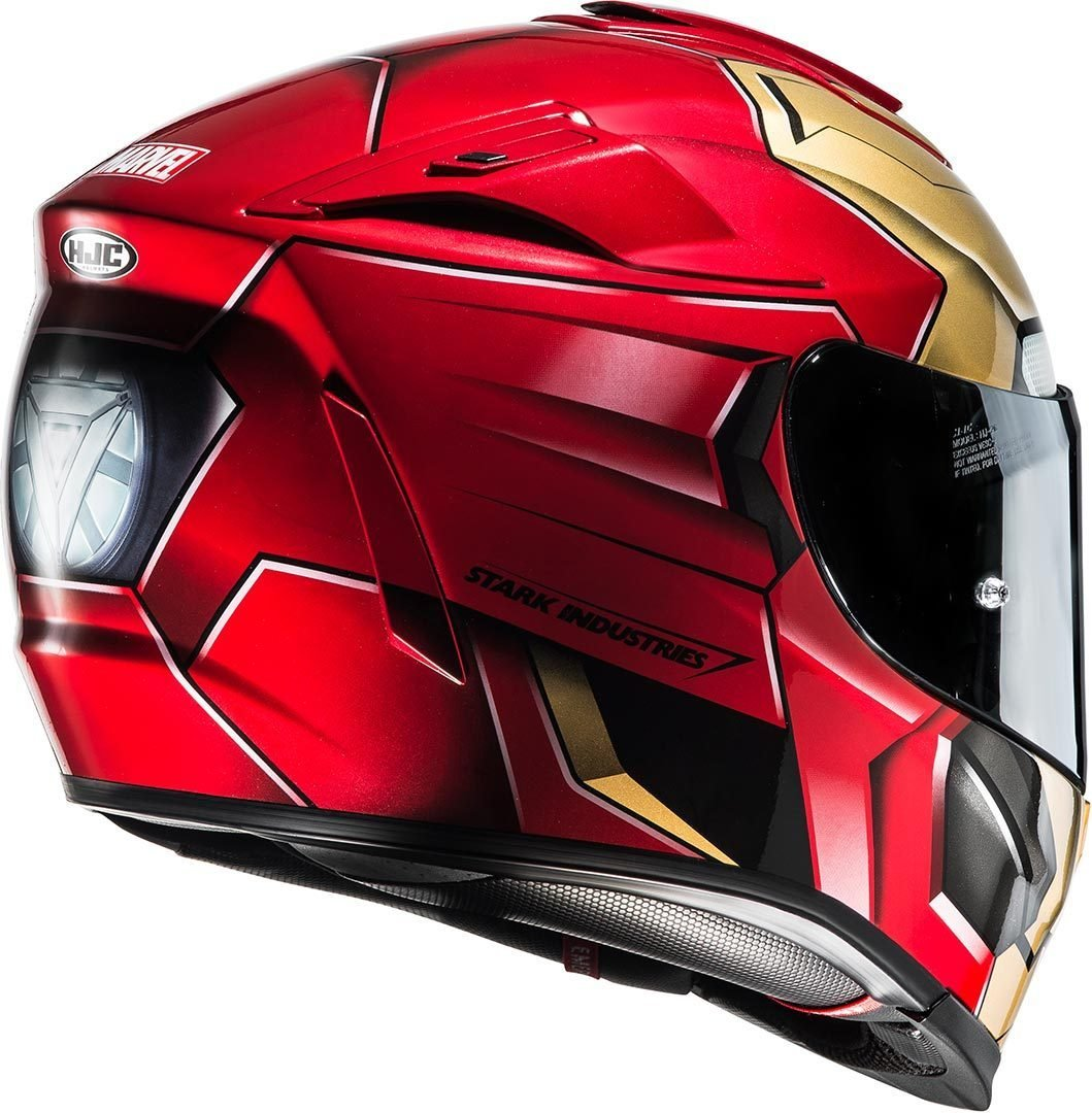HJC Casque Moto RPHA 70 Ironman Homecoming Rouge//Or Taille M