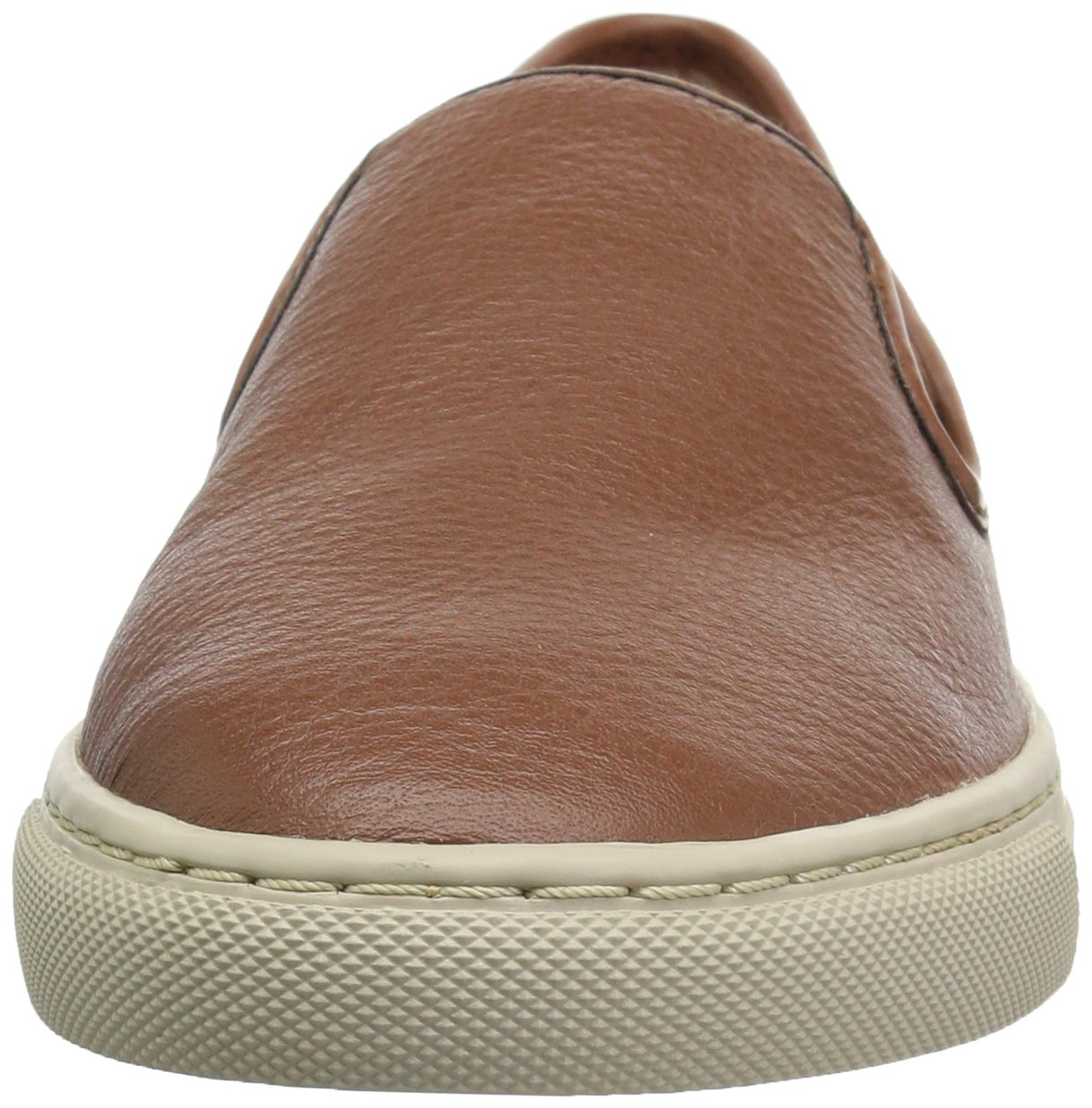 206 Collective Women's Cooper Perforated Slip-on Fashion Sneaker, Cognac Leather, 8.5 B US by 206 Collective (Image #4)