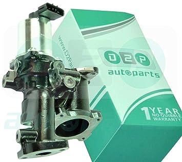 D2P Válvula EGR para Opel Astra MK5 1.7 CDTI, 1.9 CDTi [2004 - 2010 ...